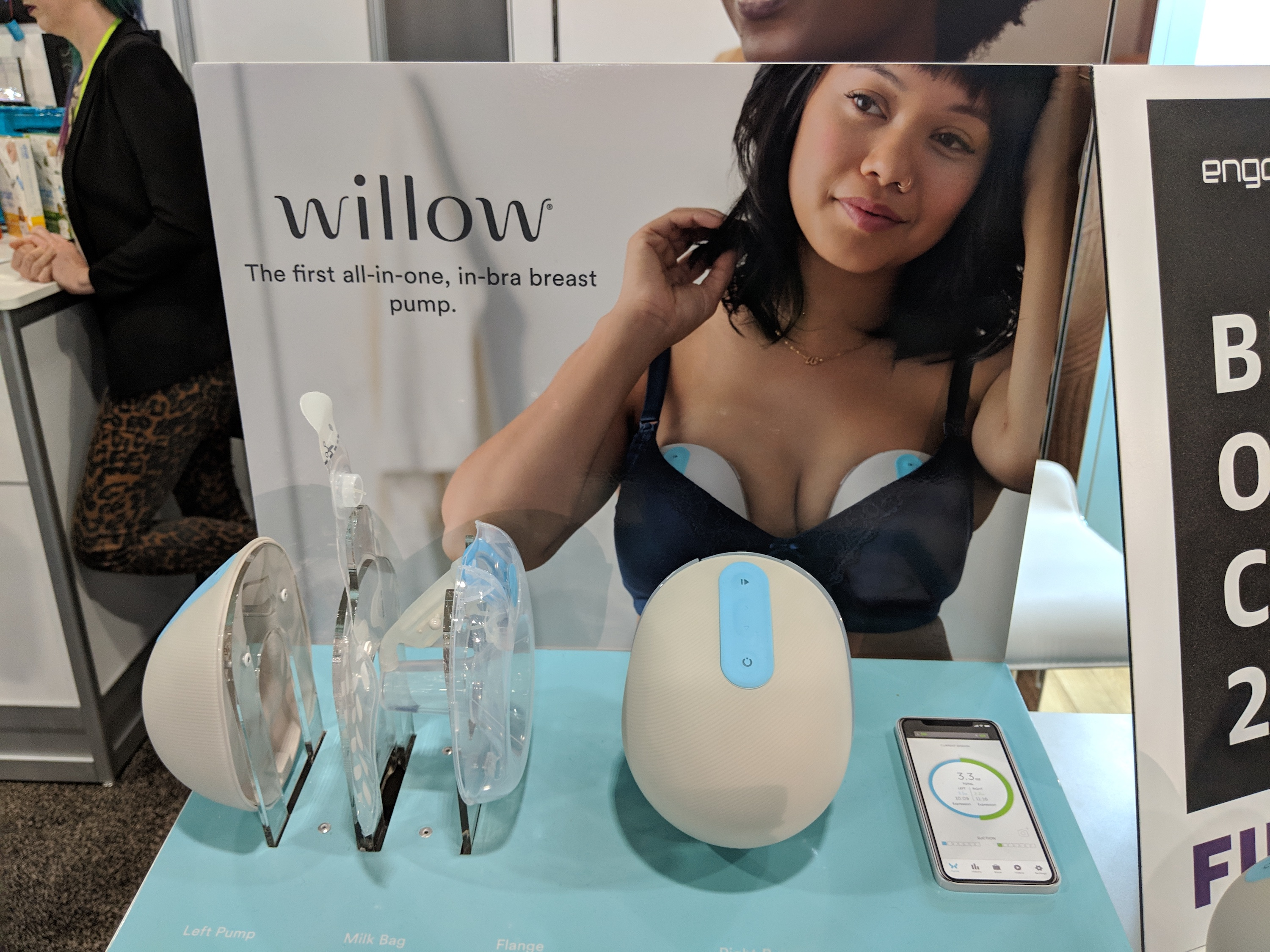 the Willow brand portable breast pump