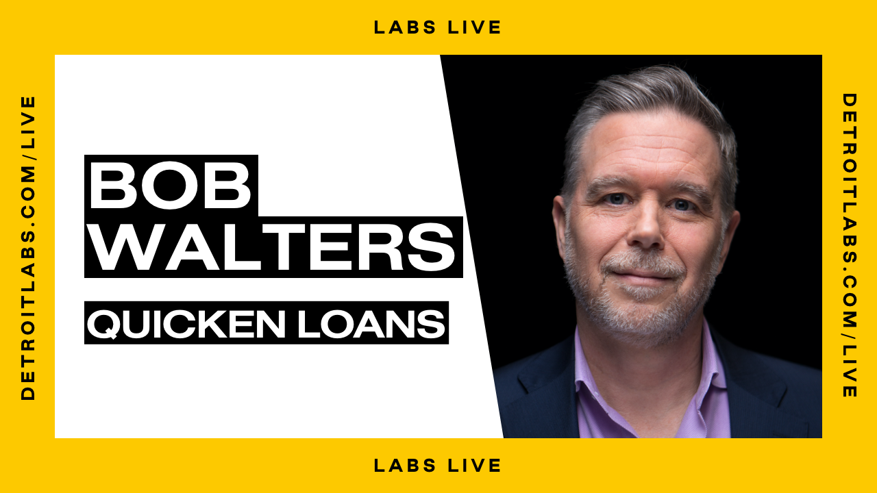 Labs Live with Bob Walters Promo Image