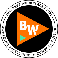 Awarded the Inc. Best Workplaces of 2021
